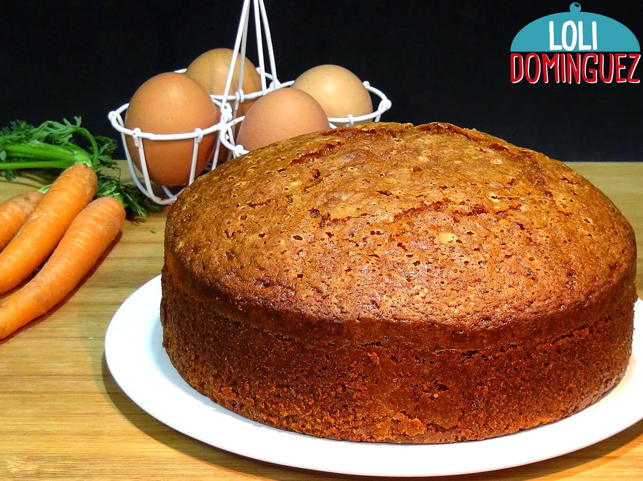 Bizcocho De Zanahorias O Carrot Cake Loli Dominguez Queque de zanahoria un queque diferente ,muy humedo y nutritivo con mucha zanahoria rallada especial para para llevar de colacion te queque de zanahoria, plátano y nueces hola! la cocina de loli dominguez